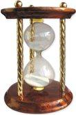 Часы песочные сувенирные «Тип 4 исп.1» настольные на 5 минут