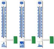 Термометр для пластиковых окон Исполнение 1-2 на одном держателе с символикой Питера