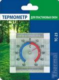 Термометр для пластиковых окон ТС-23 в блистере на 4-х «липучках»