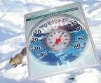 Термометр для пластиковых окон ТС-55 в блистере (шкала Фаренгейта) на присоске