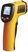 Пирометр IR-380-EN-00 - бесконтактный цифровой инфракрасный термометр до 380°C (12:1)
