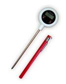Термометр цифровой электронный ТЕ-117 высокотемпературный щуп от -50 до +300 градусов