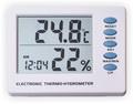 Термометр цифровой электронный ТЕ-121 температура в комнате + гигрометр + часы-будильник