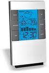 Термометр цифровой электронный ТЕ-260 настольная метеостанция: температура + гигрометр + часы-будильник + предсказание погоды