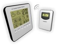 Термометр цифровой электронный ТЕ-308 беспроводная метеостанция для одновременного измерения температуры и влажности в помещении и за окном