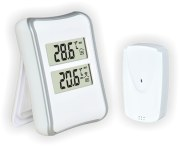 Термометр цифровой электронный ТЕ-521 беспроводной термометр для одновременного измерения температуры в помещении и за окном