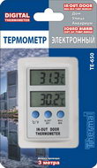 Термометр цифровой электронный ТЕ-650 «Aqua» для одновременного измерения температуры в помещении и в аквариуме