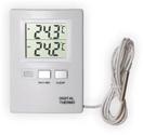 Термометр цифровой электронный ТЕ-806 для одновременного измерения температуры дома и на улице