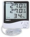 Термометр цифровой электронный ТЕ-812 с большим экраном для одновременного измерения температуры и влажности в помещении