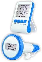 Термометр для бассейна ТЕ-912 Бассейн с беспроводным сенсором температуры для бассейнов