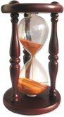 Часы песочные сувенирные «Тип 4 исп.15» настольные на 5 минут