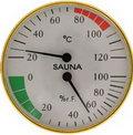 Термометр для сауны СББ-2-1 с гигрометром для измерения влажности. Банная станция (термометр+гигрометр)