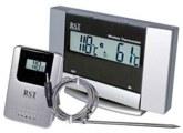 Термометр для сауны ТЕ-4108 в блистере с радиодатчиком (высокотемпературный) для измерения температуры в сауне или бане