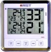 Термометр цифровой электронный RST02412 / S412 для одновременного измерения температуры в доме и на улице, а также влажности в доме и на улице