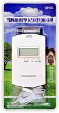 Термометр цифровой электронный ТЕ-114 in-out для измерения температуры дома и на улице