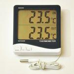 Термометр цифровой электронный ТЕ-1155 «Big screen» дом-улица с большим ЖК экраном