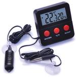 Термометр цифровой электронный ТЕ-153 in-out + гигрометр на проводе