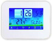 Термометр цифровой электронный ТЕ-250 настольный термометр с сенсорным экраном: температура + часы-будильник-календарь-таймер