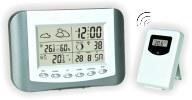 Термометр цифровой электронный ТЕ-332 беспроводная метеостанция для одновременного измерения температуры и влажности в помещении и за окном