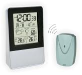 Термометр цифровой электронный ТЕ-338 «Radioset» беспроводной для одновременного измерения температуры и влажности в помещении и за окном