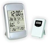 Термометр цифровой электронный ТЕ-604 беспроводная метеостанция для одновременного измерения температуры и влажности в помещении и за окном
