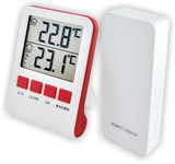 Термометр цифровой электронный ТЕ-920 беспроводной термометр дом-улица для одновременного измерения температуры в помещении и за окном